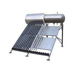 Compact Solar Water Heater with Reflective Shield