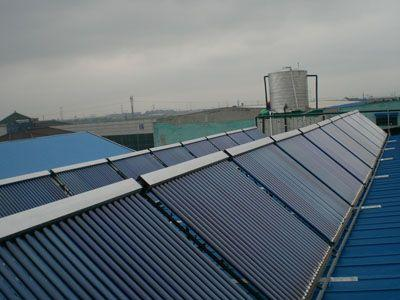 Commercial Solar Water Heating Project