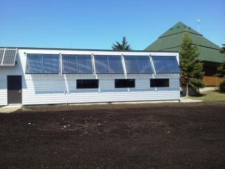 Solar Heating Design with the Geothermal System