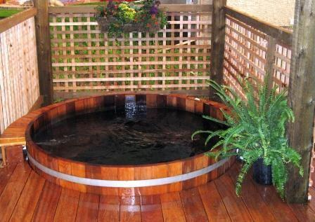 Solar Water Hot Tub