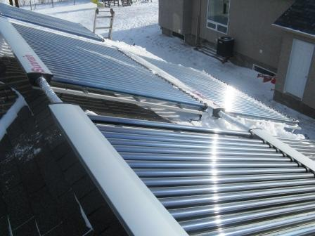 Solar Heating Project Collectors
