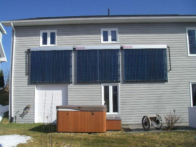 Domestic Hot Water and Solar Heating Project
