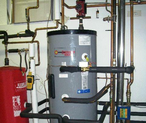 Heat Storage for Domestic Hot Water