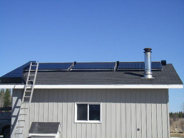 Domestic Solar Heating System
