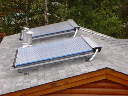 Resort Solar Installation in Canada