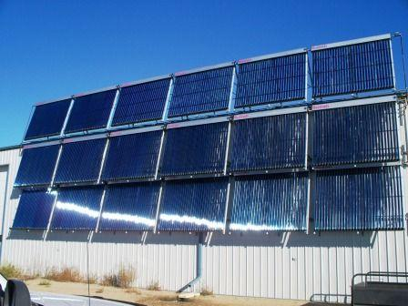 Solar Space Heating in Western Canada