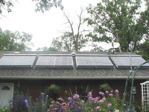 Solar Heating Project with Electric Hydronic Boiler