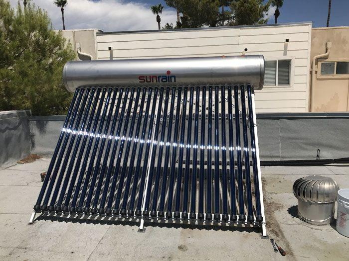 Compact Solar Water Heaters