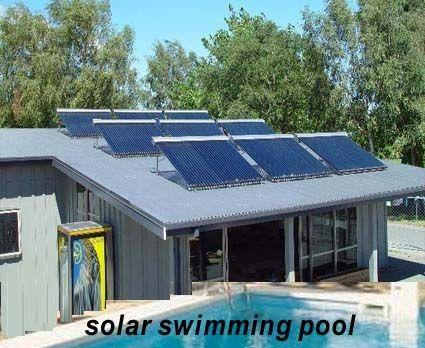 Solar water heater for pool northern lights solar solutions - Heated swimming pool running costs ...